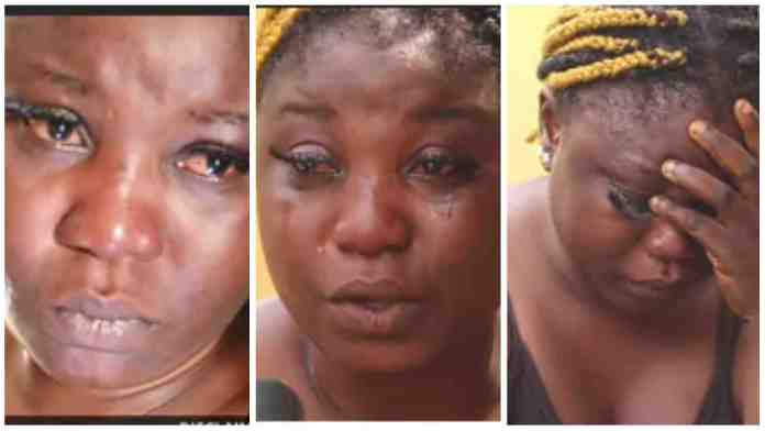 Lady Cry As She Share Pepper Life Experience In Libya - Video Will Make You Sad