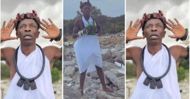 Video N Photos Of Shatta Wale Performing Mad Rituals Trends - Watch