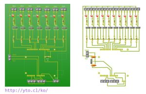 PCB Wizard - Professional Edition - 6_Salidas_PWM_1_boton.pcb