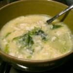 たまごと豆腐のスープ