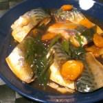 鯖の吹き寄せ煮