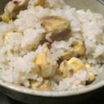 秋になったら食べたいご飯☆栗ご飯