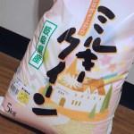 【湯の華市場】コシヒカリの突然変異種 ミルキークイーン
