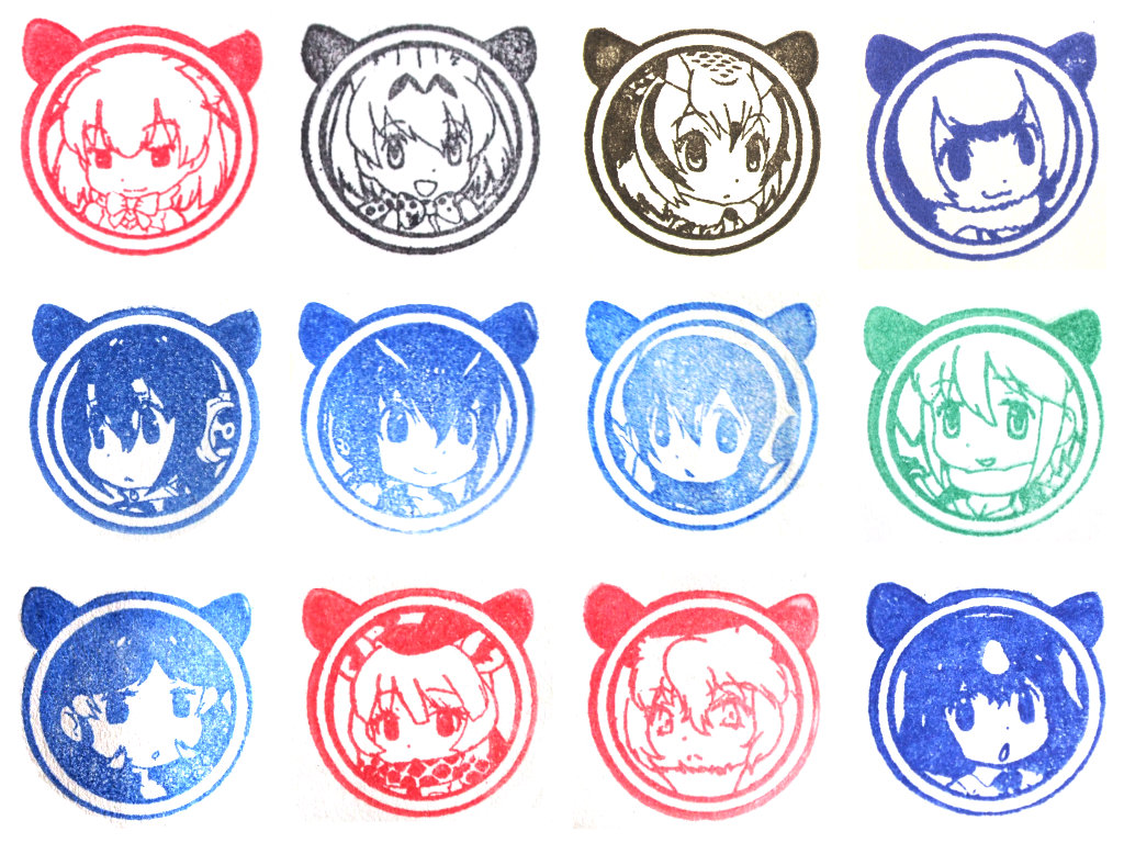 Nonhoi Park Kemono Friends Stamp Rally