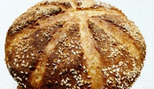 イースト+自家製天然酵母のハイブリッドカンパーニュレシピ