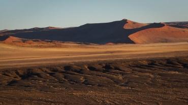 Die Sanddünen von Sossusvlei im Morgenlicht