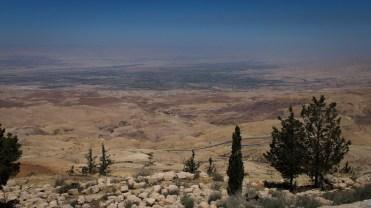 Blick ins gelobte Land vom Berg Nebo