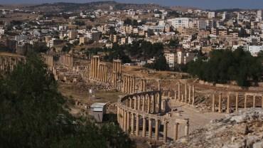 Jerash/Gerasa, Stadt der tausend Säulen