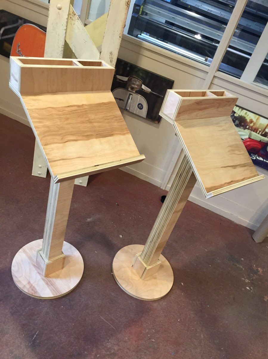 Wooden Podiums