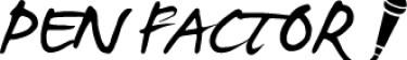 PEN FACTOR logo
