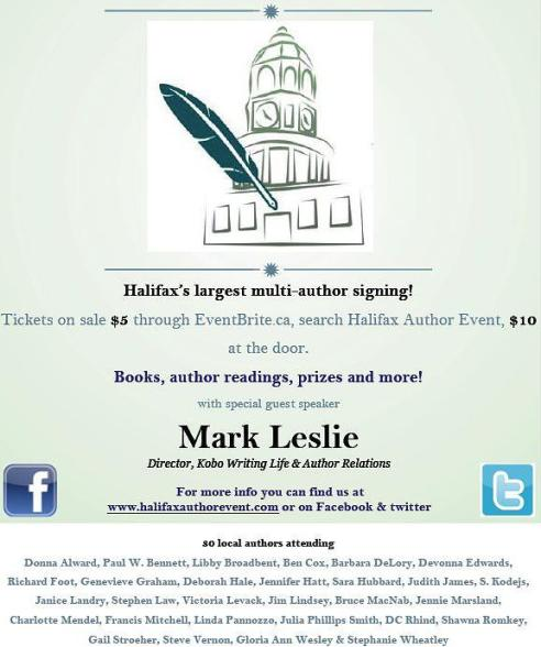 Halifax Author Event