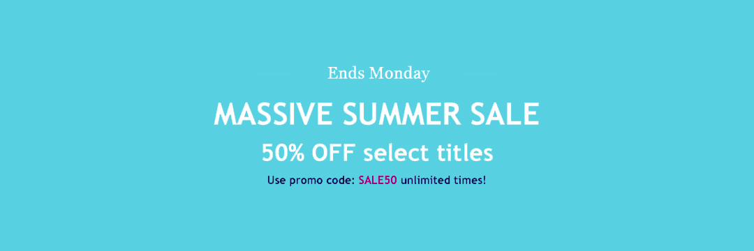 Save Your Readers 50% On KWL Titles—On Us!