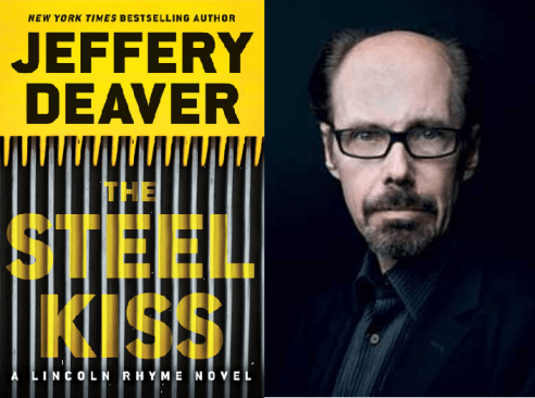 Jacket photo of Jeffery Deaver from The Steel Kiss, , the latest Lincoln Rhyme thriller. Photo by Niko Giovanni Coniglio.