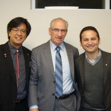GK Mark with Joseph and Antonello