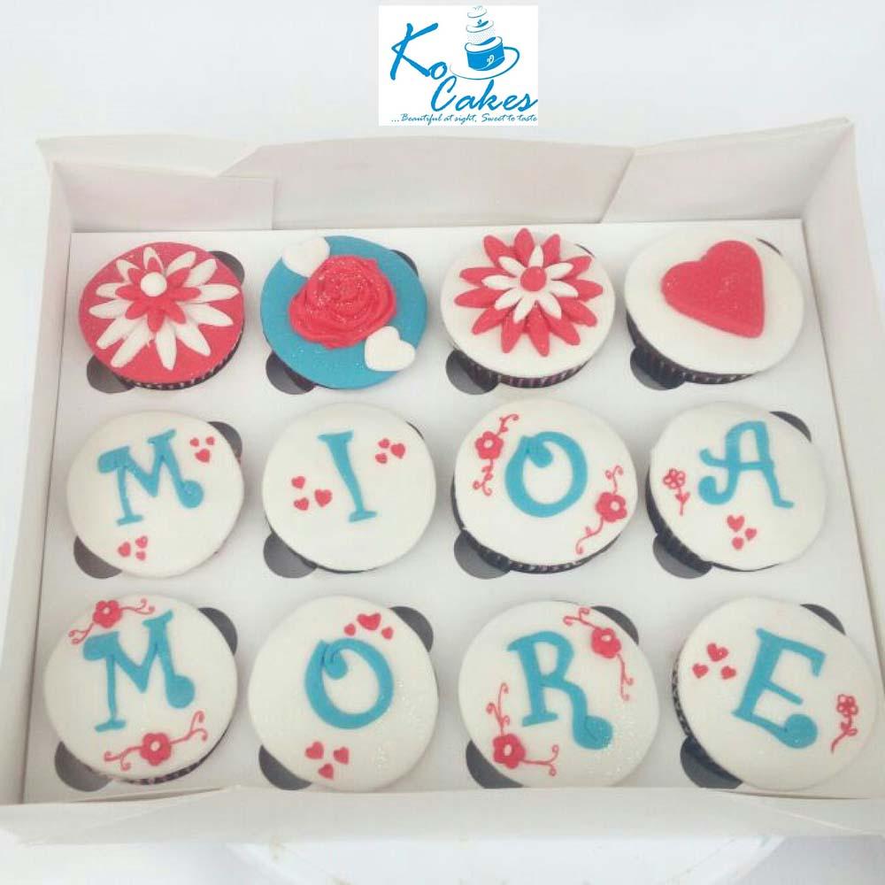 Mia Mor Love Birthday Cupcake