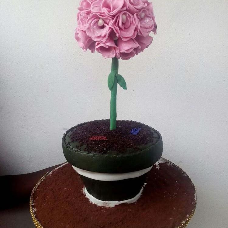 Flower Cake By Kocakes