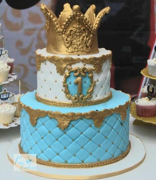 Royalty birthday cake