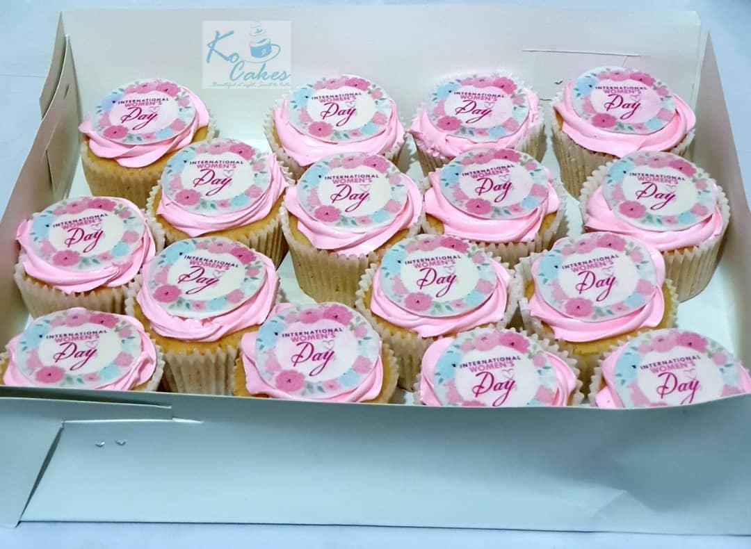 International Womens Day Cupcakes
