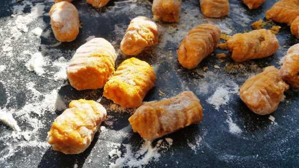 kochen aus liebe Kürbis - Gnocchi 5