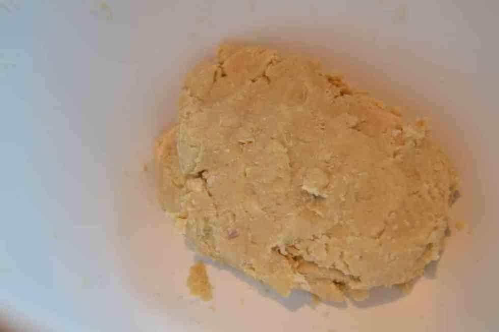 Quiche Teig geknetet
