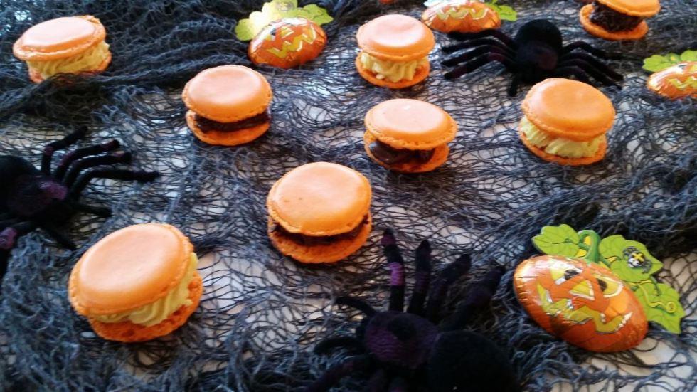 macarons-zu-helloween-orange kochen-aus-liebe