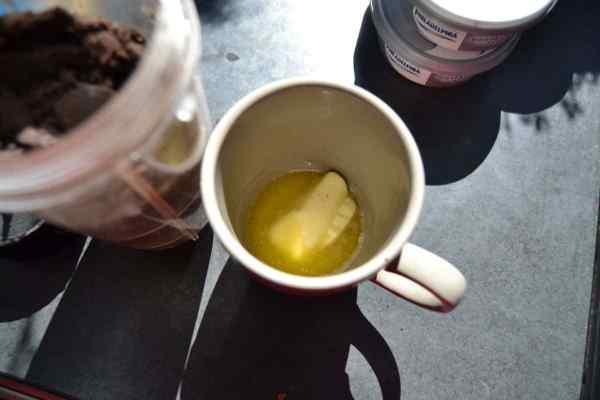 geschmolzene Butter