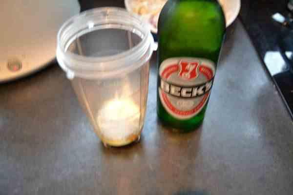 Ei , Mehl , Bier , Salz