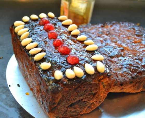 Englischer Weihnachtskuchen Christmas Fruitcake