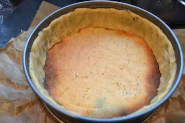 Mürbeteig vor gebacken