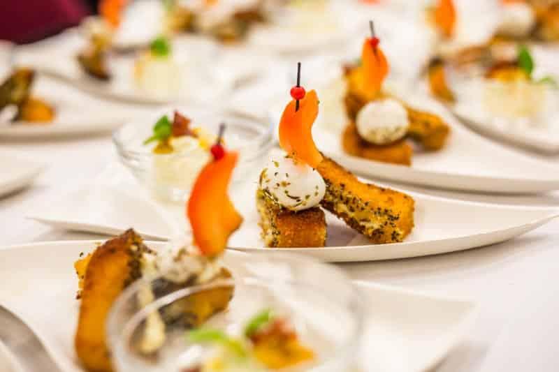 Käseschiffchen gekocht auf dem Bloggerday Food professionals