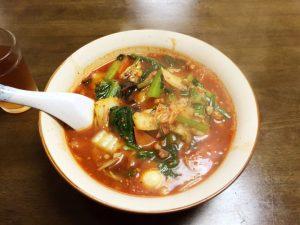 「中国料理 龍華」の具だくさん担々麺がクセになる辛さ…!