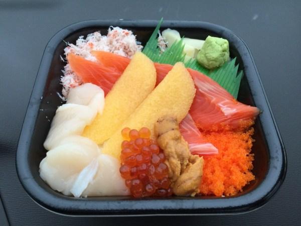 75種類の海鮮丼が全品540円!!!葛島の「しーふーどん」