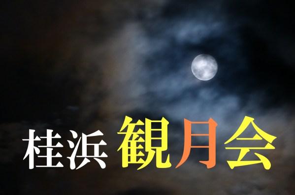 今年の十五夜は桂浜で。桂浜観月会でゆったりとしたお月見を!