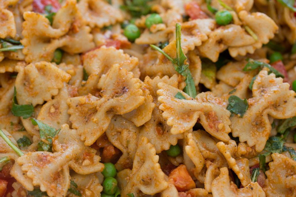 Lieblingsrezept: Pesto-Nudelsalat