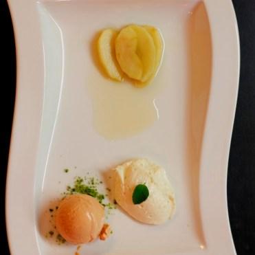 Das Mousse schmeckte nur ganz leicht nach Ziege, ein geniales Dessert!