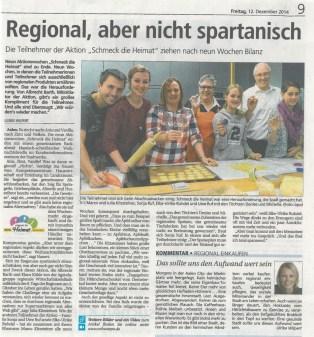 Schwäbische Post Dezember 2014