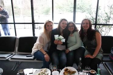 Mein Team: Dani, Ina, Elena und ich