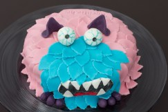 Fondanttorte Monster 20