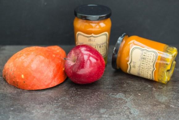 Kürbis Apfel Marmelade2