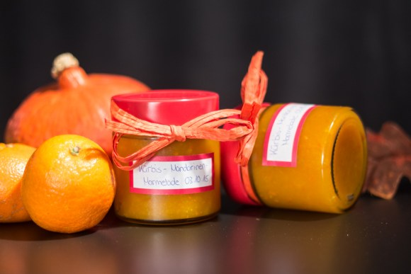 Kürbis Mandarinen Marmelade 3