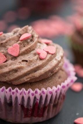 Mousse au Chocolat Cupcakes 4