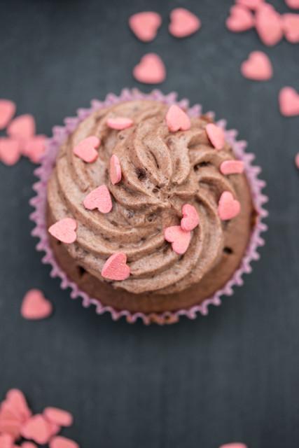 Mousse au Chocolat Cupcakes 6
