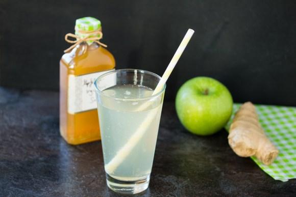 Apfel Ingwer Sirup 1