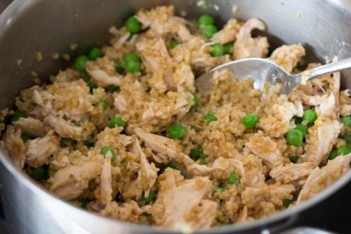 Bulgur Hähnchen Salat 1