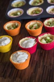 Rhabarber Cupcakes 1