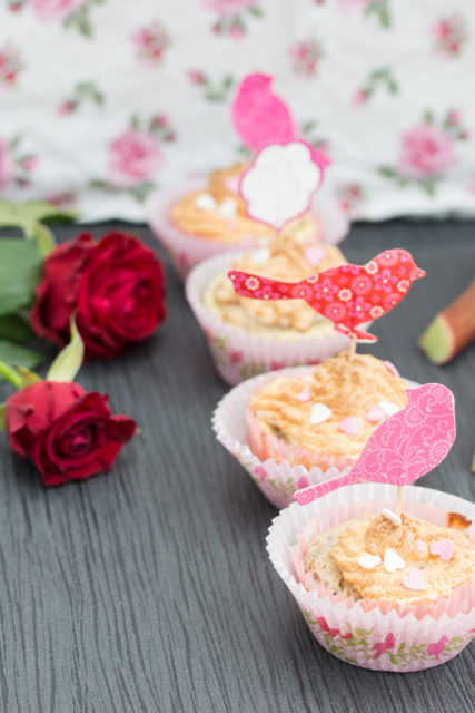 Rhabarber Cupcakes 4