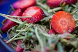Rucola Erdbeer Salat 4