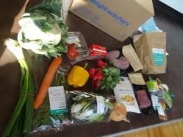 Viel Gemüse - sieht schon mal gut aus!