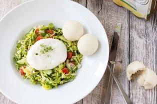 Burrata Salat mit Fürstenberg Naturradler 5