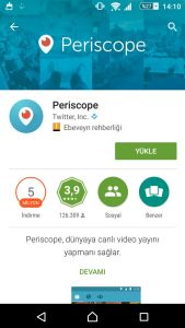 periscope-uygulama
